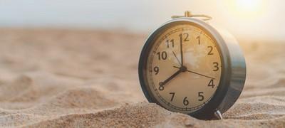 Öffnungszeiten in den Sommermonaten