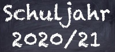Informationen für das Schuljahr 2020/21