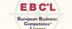 EBC*L  Das internationale Zertifikat für  Wirtschaftskompetenz